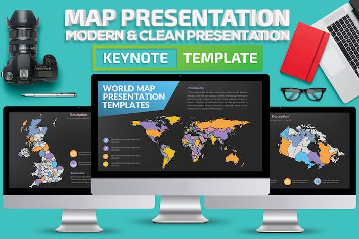 Thumbnail for Map Keynote Presentation
