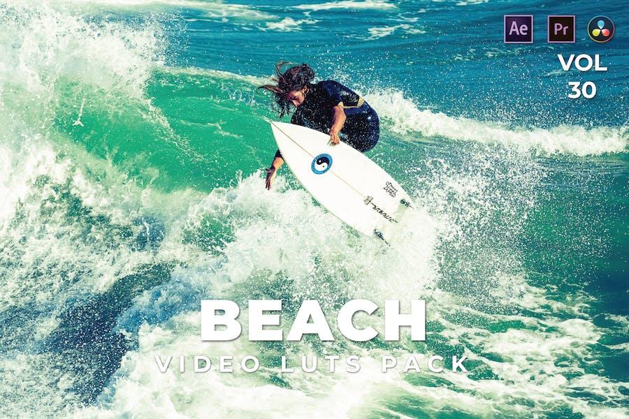 Beach Pack Video LUTs Vol.30