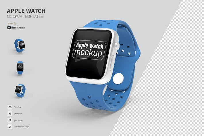 Thumbnail for Apple Watch - Mockup FH
