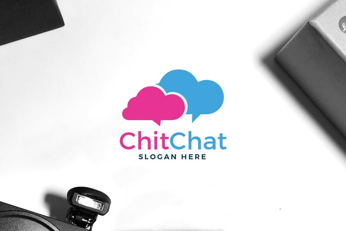 Thumbnail for Chatting App Logo