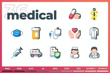 Medical Icons - Iconez