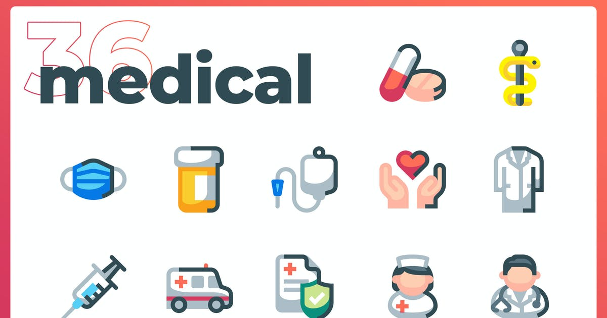 Download Medical Icons - Iconez by oelhoem