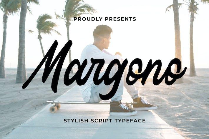 Thumbnail for Margono - Stylish Script Font