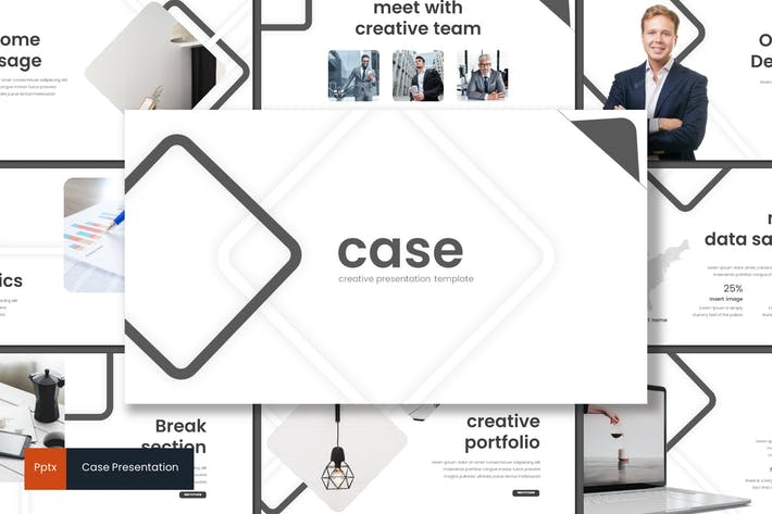 Thumbnail for Case - Powerpoint Template
