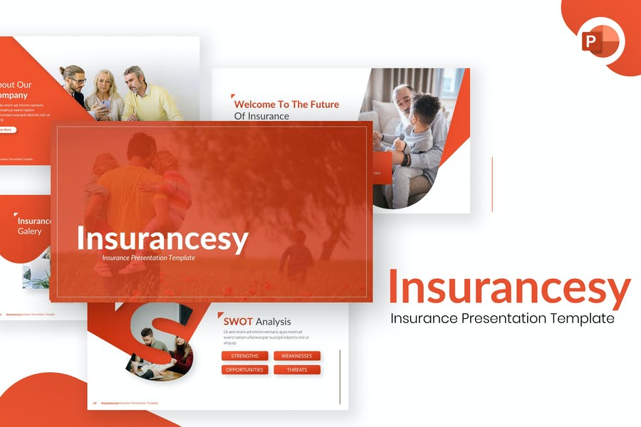 Insurancesy Insurance PowerPoint Template