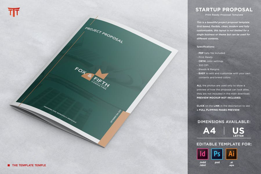 Startup Business Proposal Template