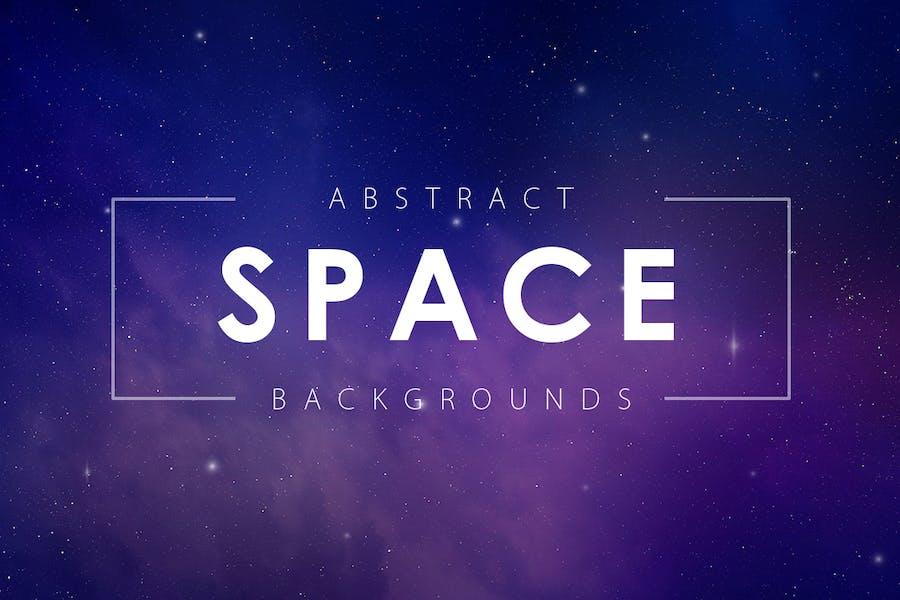Abstrakte Space-Hintergründe