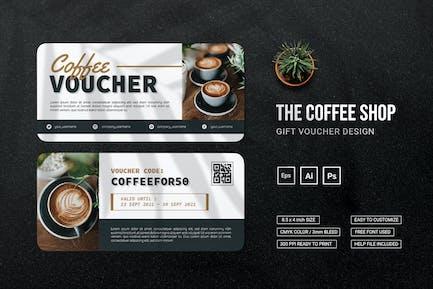 Coffee Shop - Gift Voucher
