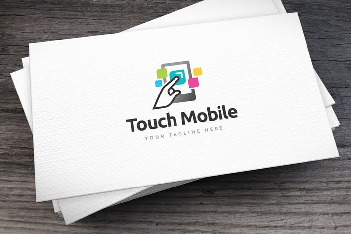 Thumbnail for Touch Mobile Logo Template
