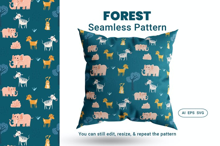 Thumbnail for Seamless Pattern Forest