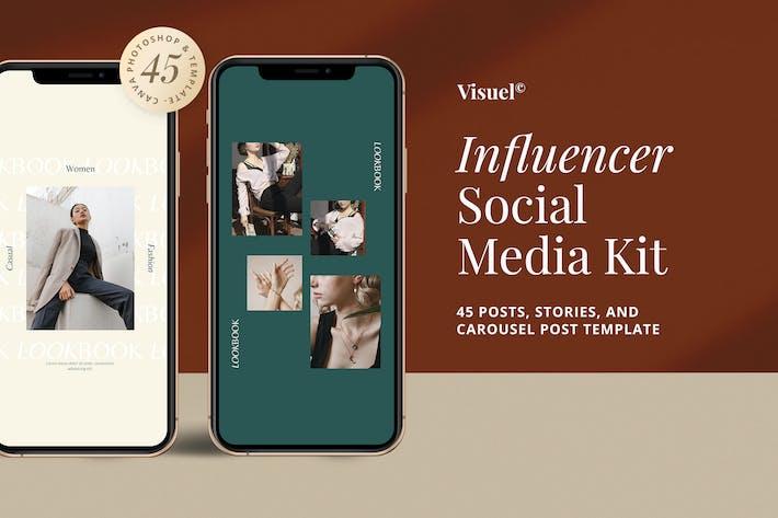 Thumbnail for Influencer Social Media Kit v.2