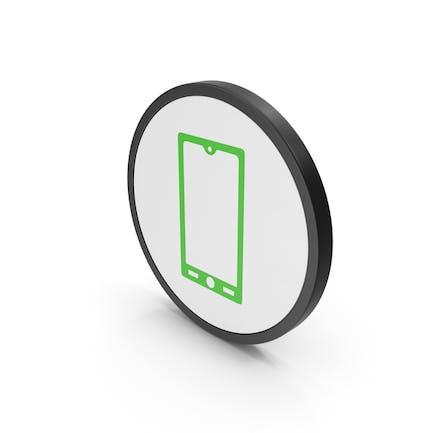 Icon Smart Phone Green