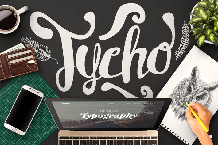 Thumbnail for Tycho Typeface