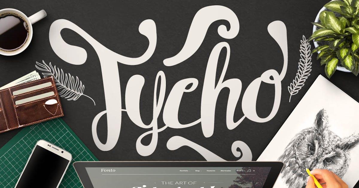 Download Tycho Typeface by maulanacreative