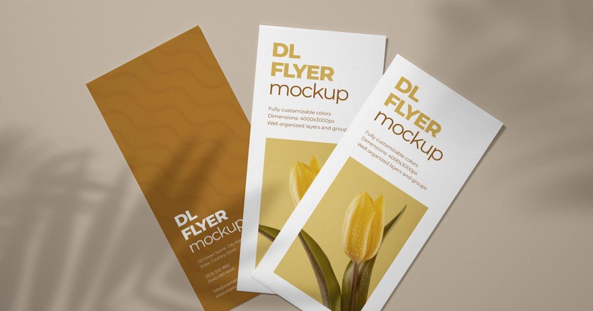 Download DL Flyer Mockup by deeplabstudio