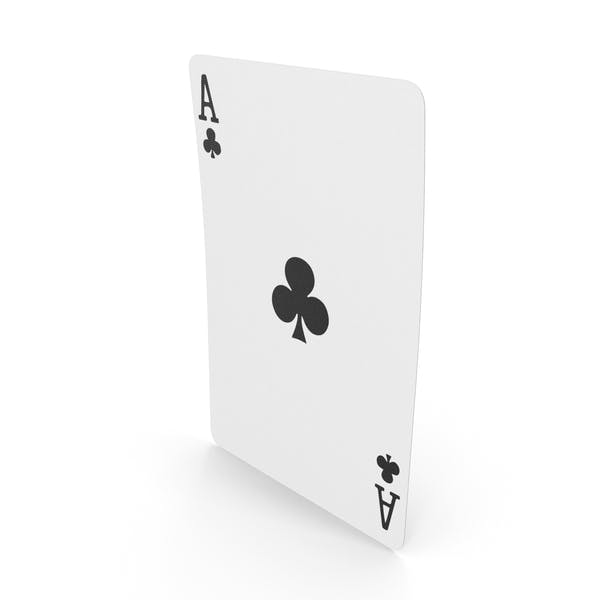 Playing Cards Ace of Clubs