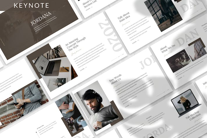 Thumbnail for Jordana - Business Keynote Template