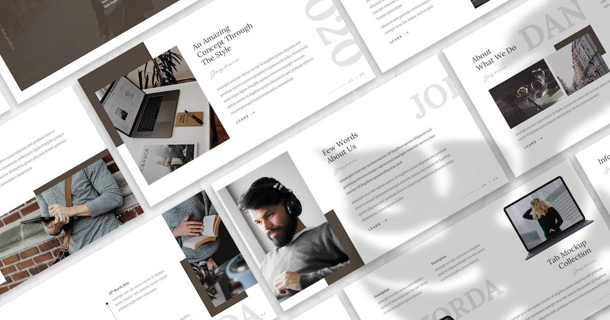Download Jordana - Business Keynote Template by designesto