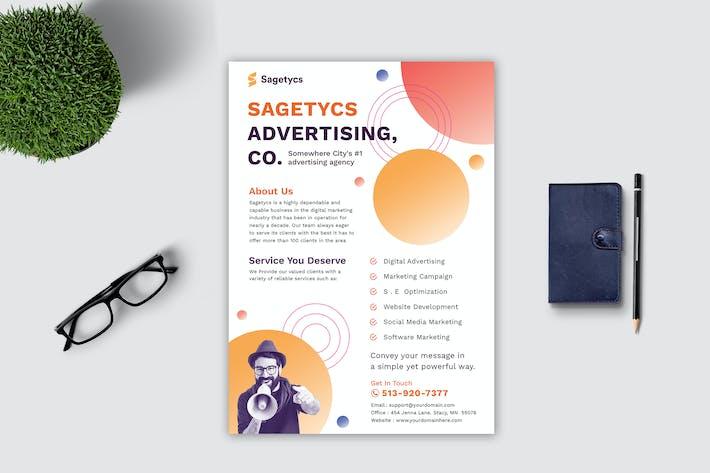 Thumbnail for Advertising Flyer