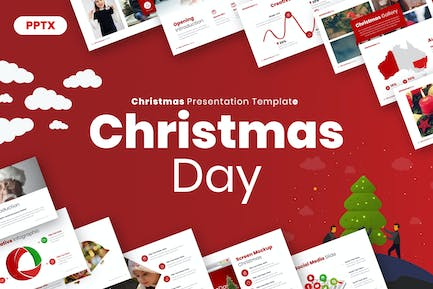 Christmas Day Powerpoint Presentation Template