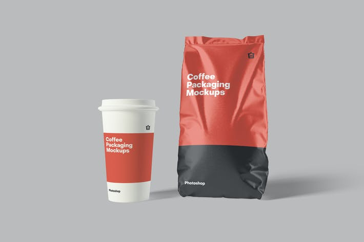 Thumbnail for Coffee Packaging Mockups