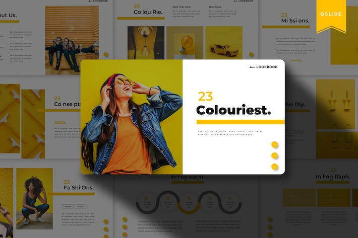 Thumbnail for Colouriest | Google Slides Template