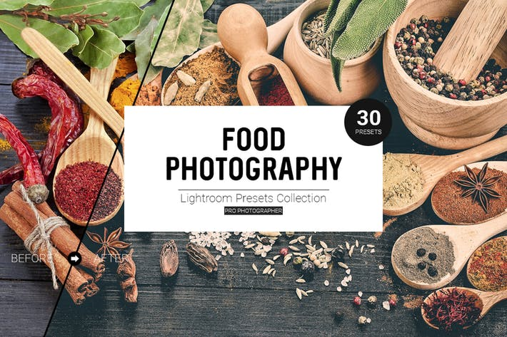Thumbnail for Food Photography Lightroom Presets