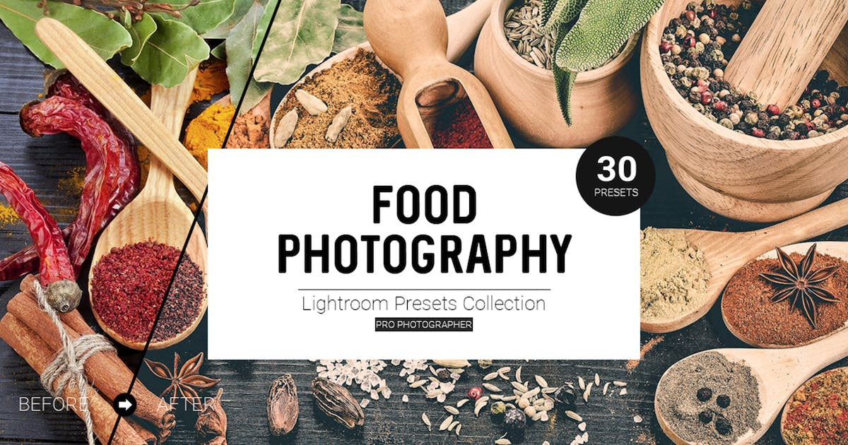 Download Food Photography Lightroom Presets by Temaphoto