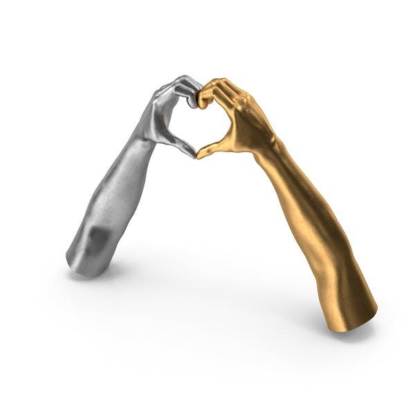 Thumbnail for Herzform Hände