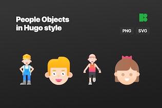 2D Hugo - People