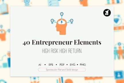 40 Entrepreneur elements