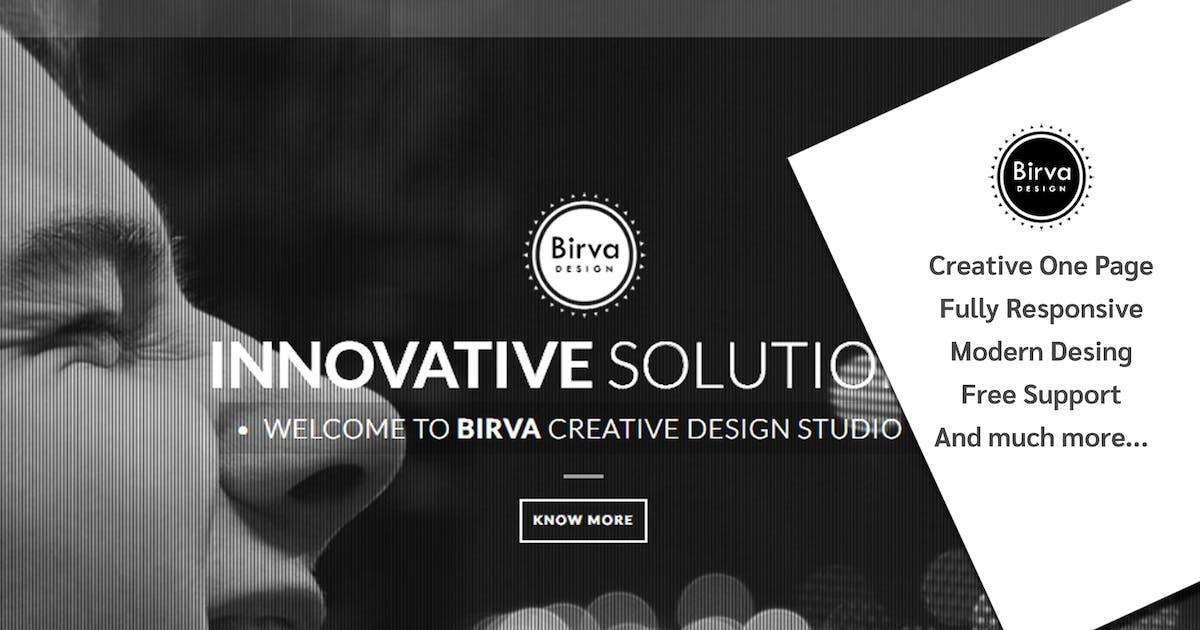 Download Birva Design : Creative One Page Theme by abmathasuriya