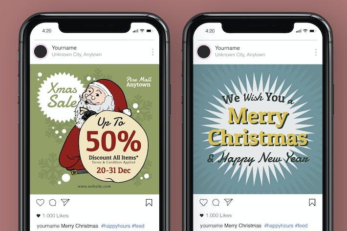 Thumbnail for Christmas Instagram Post