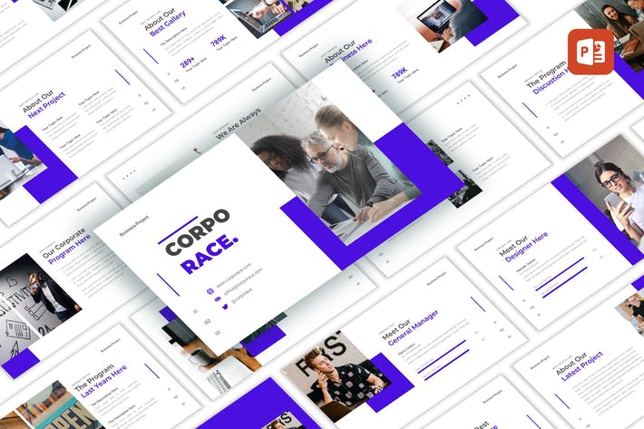 Thumbnail for Corporace - Business PowerPoint Template