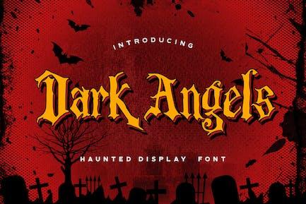 Dark Angels - Fuente de visualización encantada