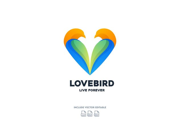Love Bird Logo Design