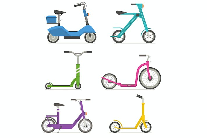 Thumbnail for City Kick Scooters and E Bikes Set
