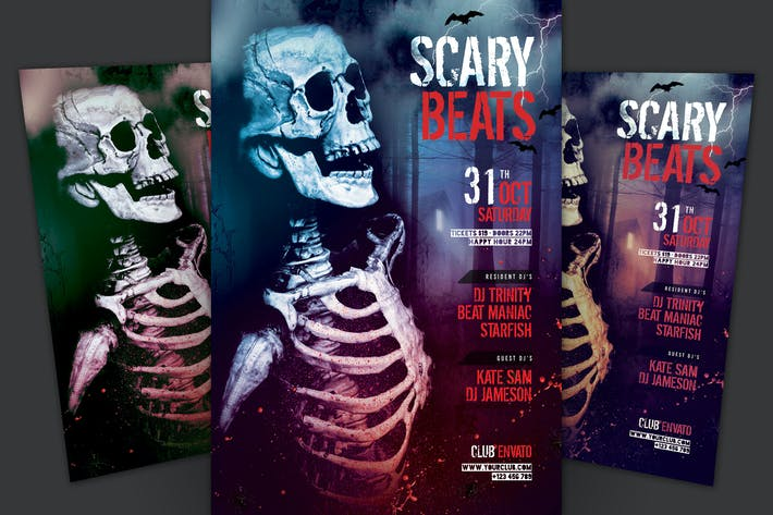 Thumbnail for Scary Beats Flyer