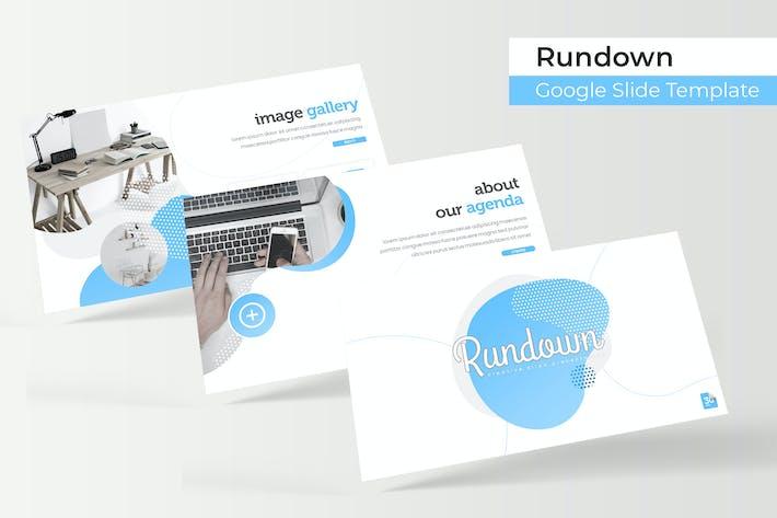 Rundown - Google Slide Template
