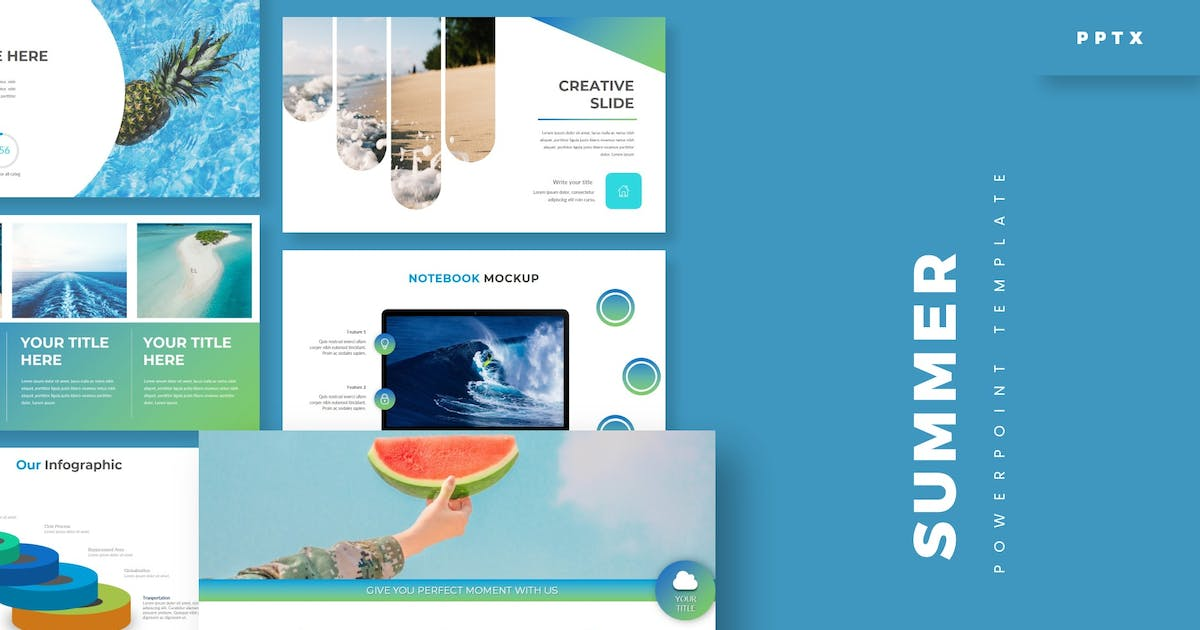 Download Summer - Powerpoint Template by aqrstudio