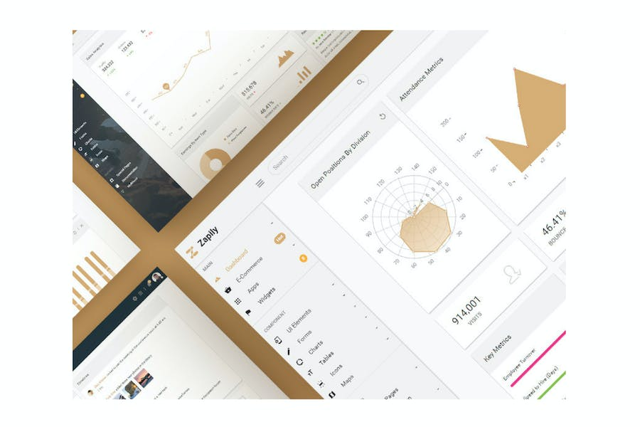 Zapily - Responsive Bootstrap Admin & Powerful UI
