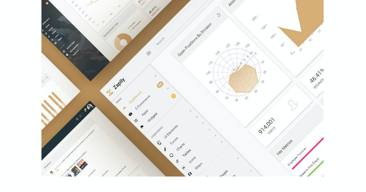 Download Zapily - Responsive Bootstrap Admin & Powerful UI by Hencework