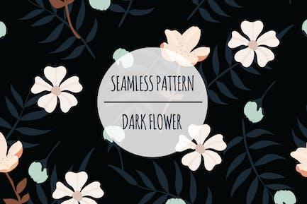 Dark Flower – Seamless Pattern