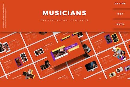 Musicions - Presentation Template