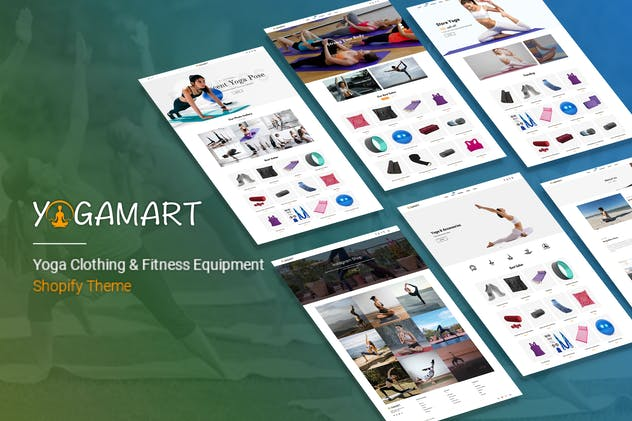 YogaMart - Yoga Clothing & Fitness Equipment