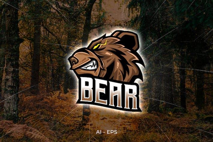 Thumbnail for Bear - Logo Template