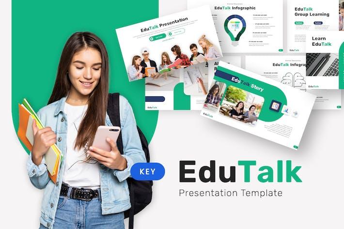 Thumbnail for Edutalk - Education Keynote Template