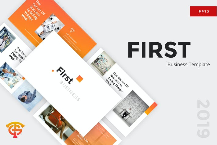 Thumbnail for First Business - Powerpoint