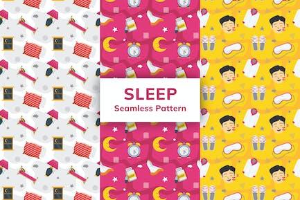 Sleep Seamless Pattern