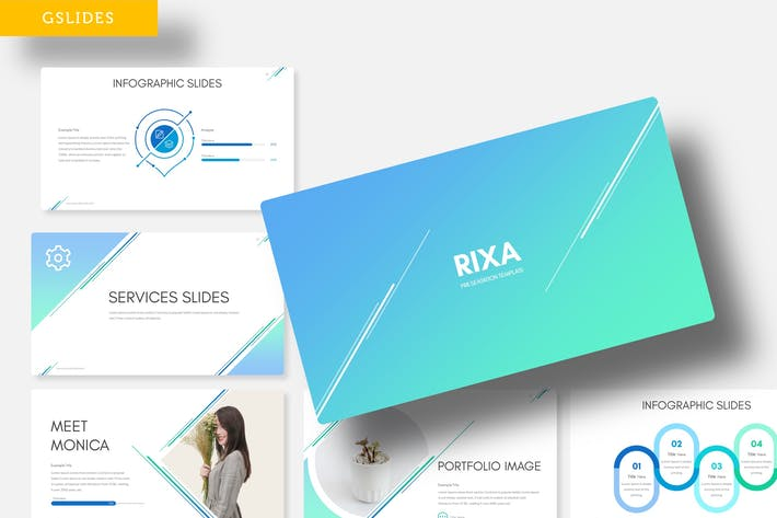 Thumbnail for Rixa - Google Slide Template